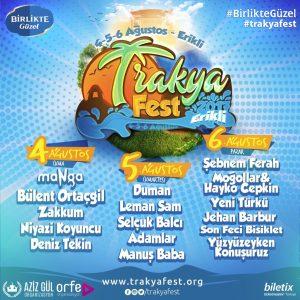 Trakya Fest Program