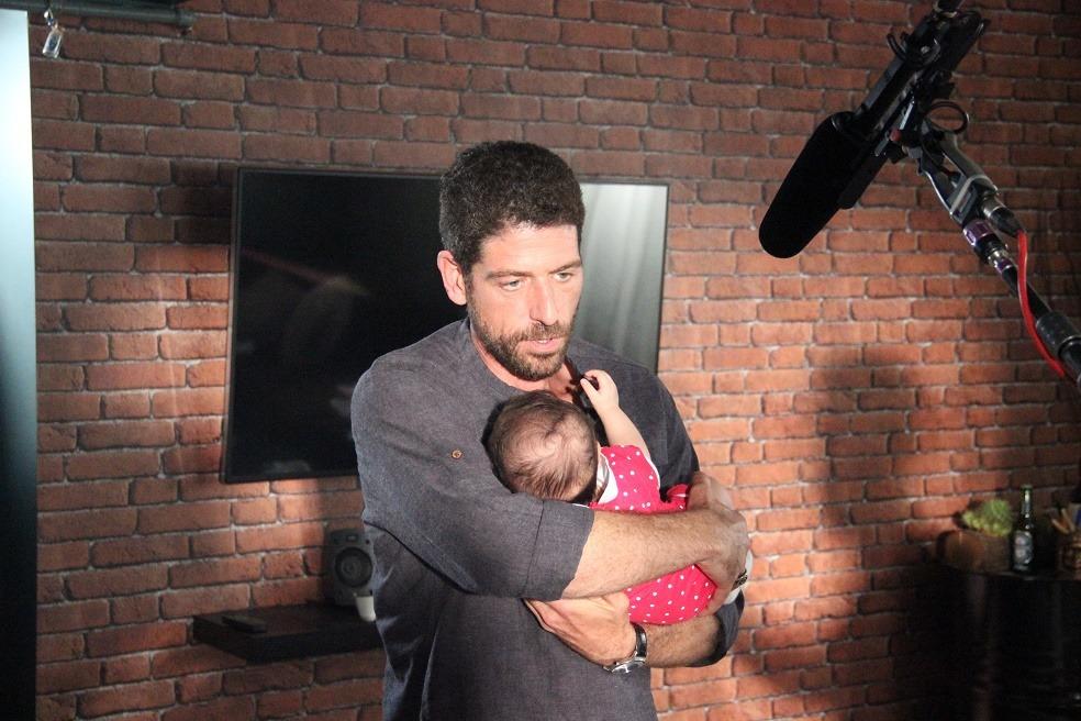 Kızım ve Ben Film çekimi Cemal Hünal