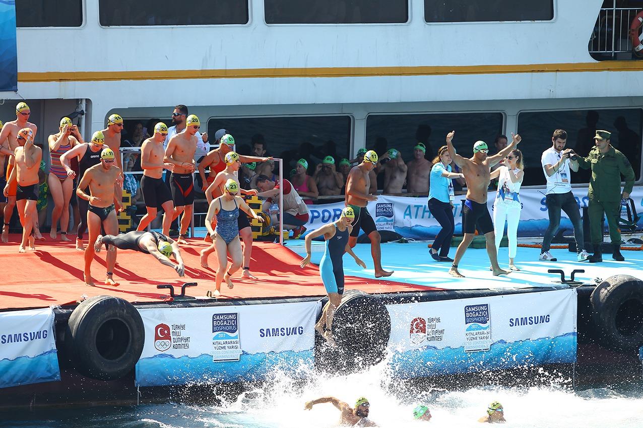 Samsung Boğaziçi Kıtalararası Yüzme Yarışı 2017