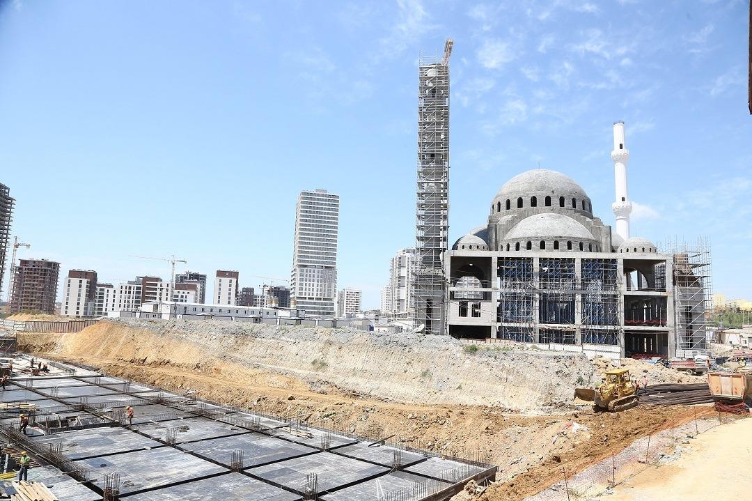 Kayaşehir yeni cami inşaatı