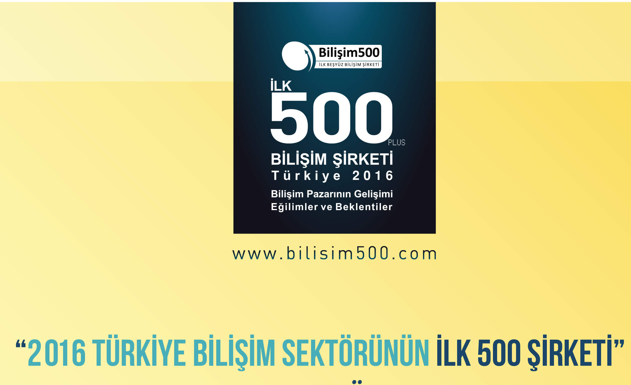 bilişim 500 ödülleri
