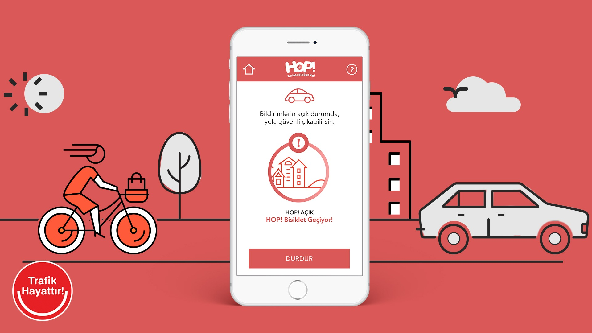 HOP mobil uygulaması