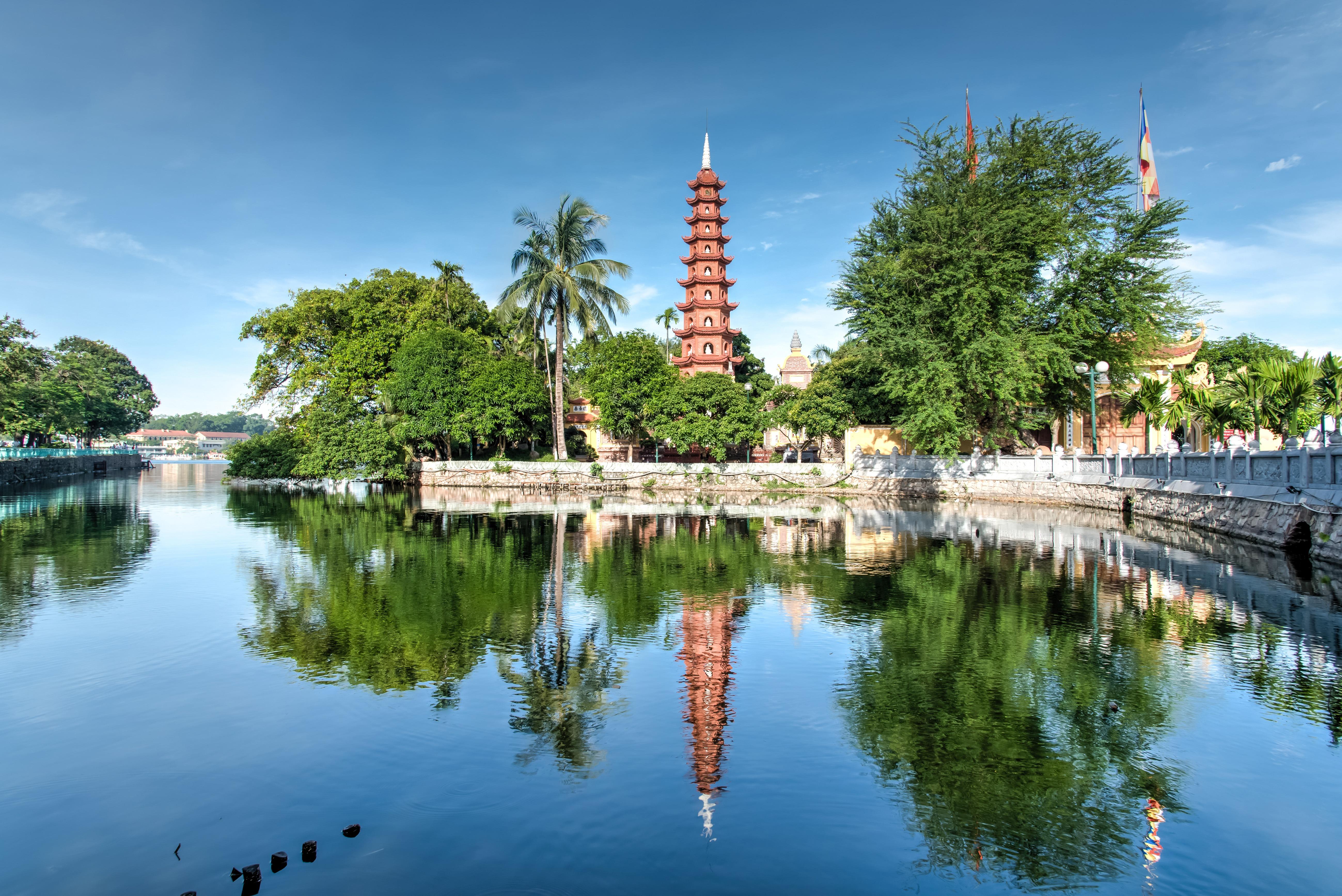 Hanoi Vietnam Budist Tapınağı