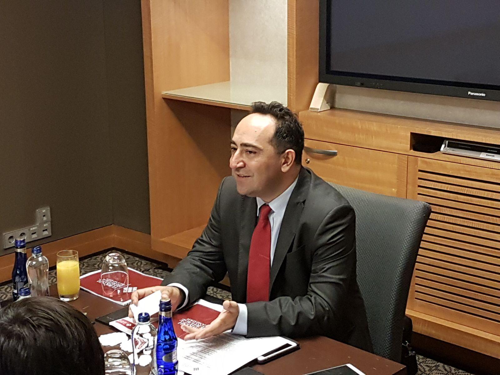 Turkish Heritage Organization (THO) Başkanı Ali Çınar