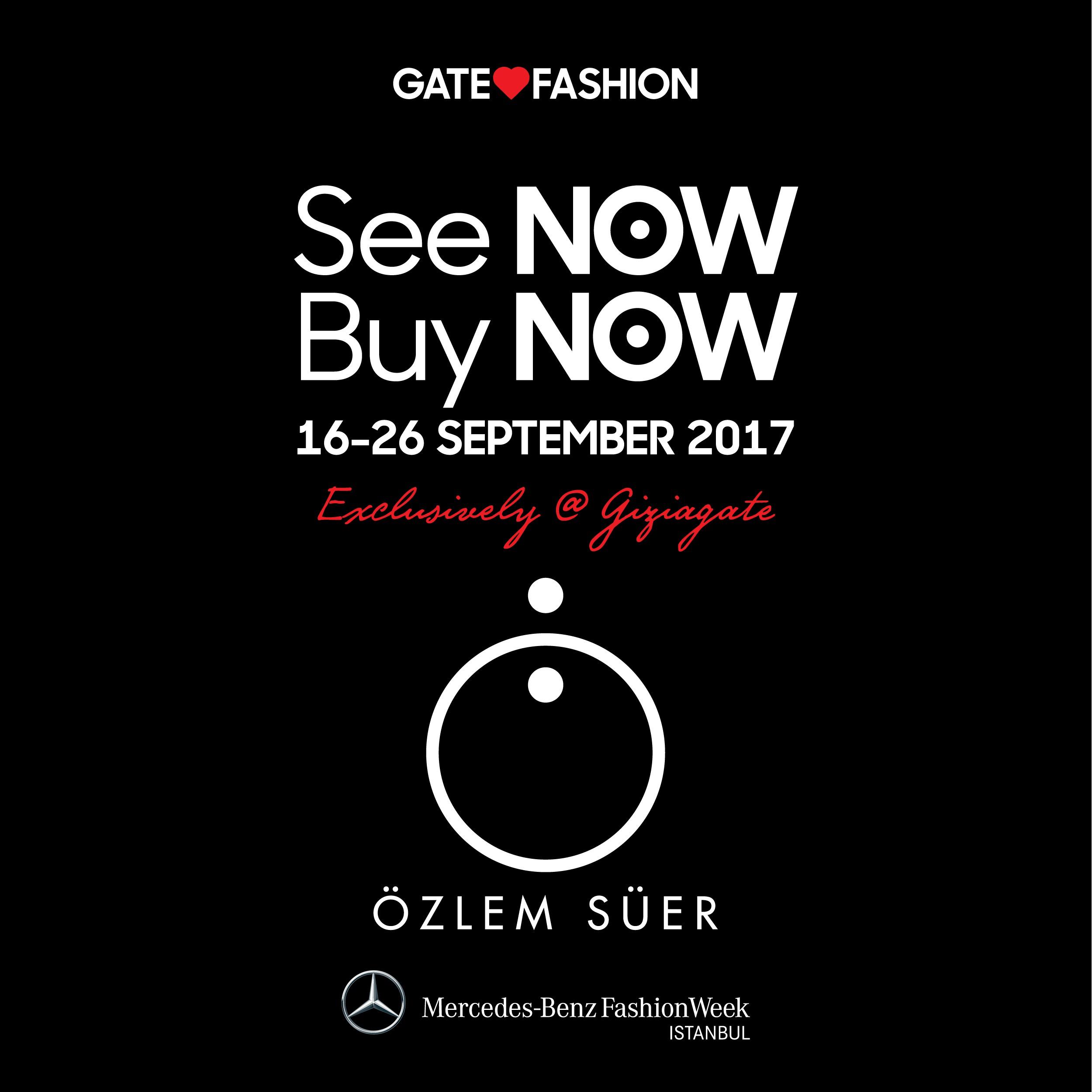 Özlem Süer See Now Buy Now Gizia Gate Zorlu