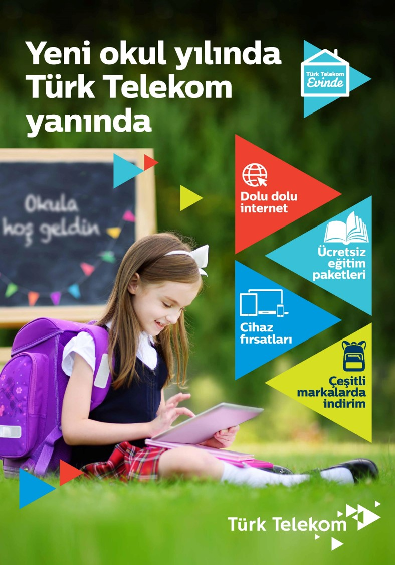 Önce Türk Telekom'a Sonra Okula kampanyası