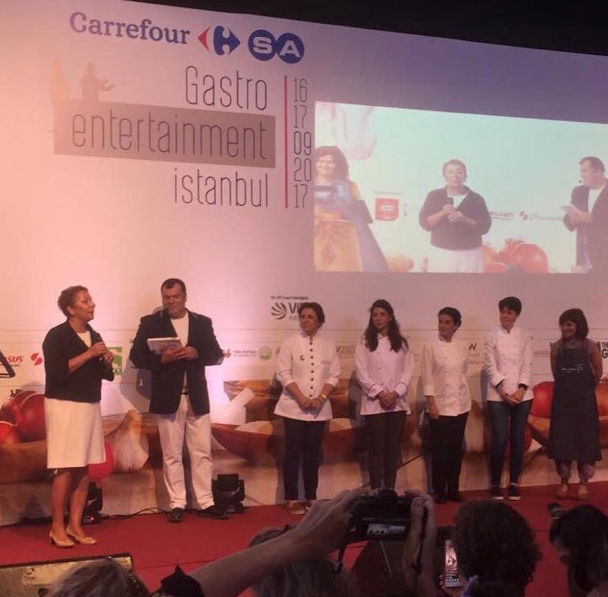 CarrefourSA Gastro Entertainment İstanbul etkinliği