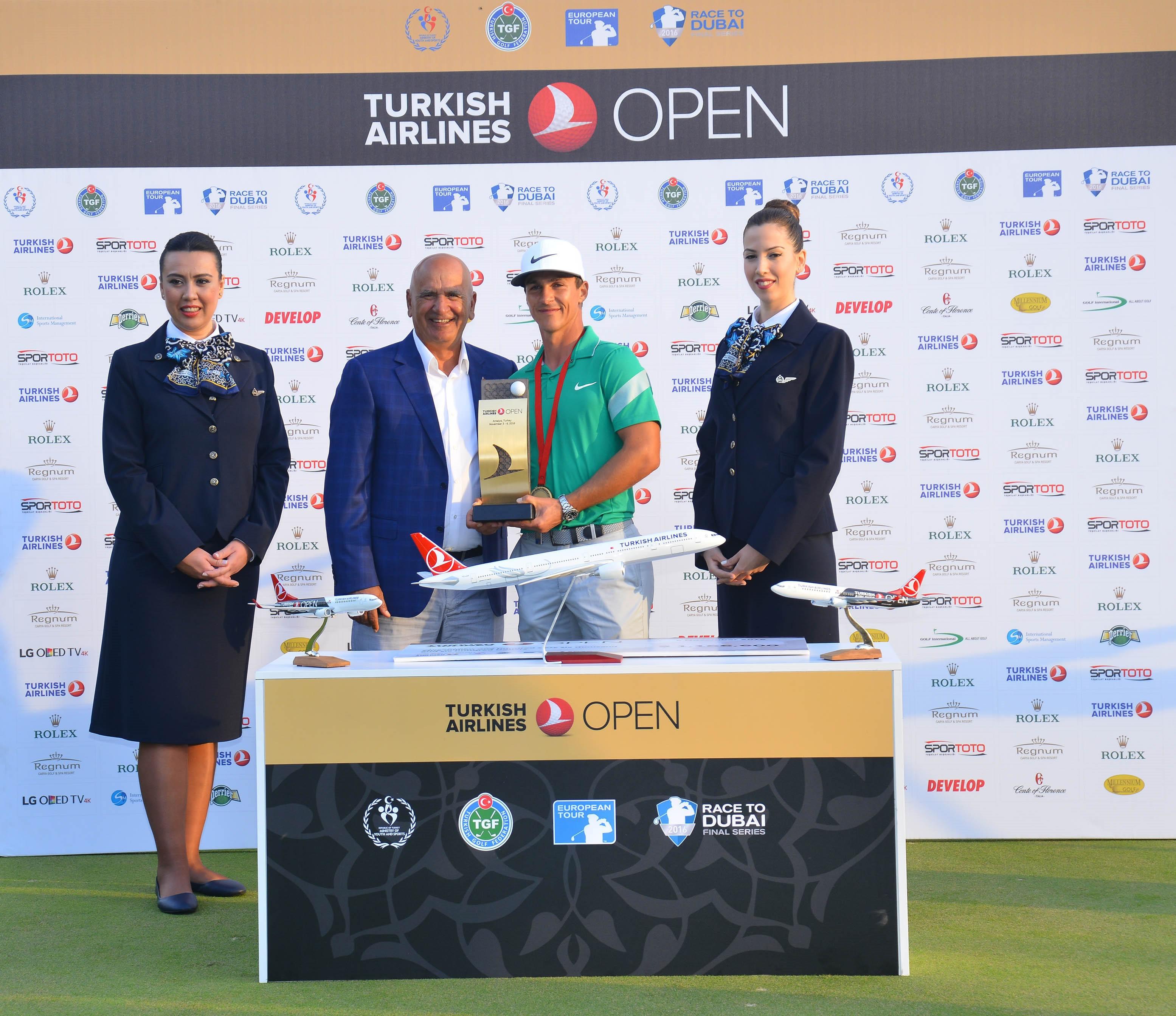 Turkish Airlines Open Golf Turnuvası Fikret Öztürk