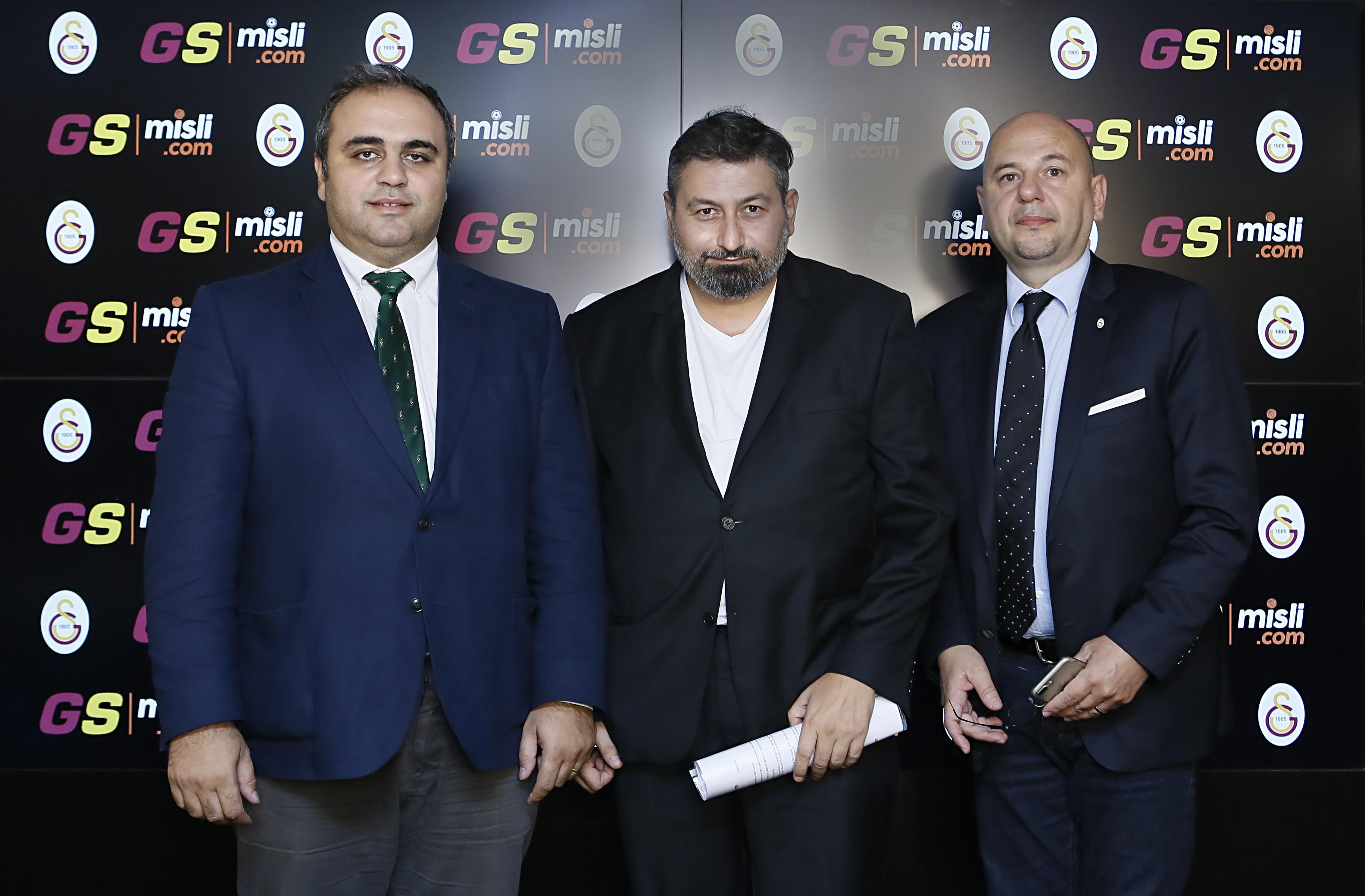 Galatasaray ve Misli.com'dan dev iş birliği