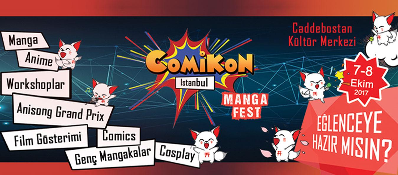 COMİKON-Istanbul /Manga Fest