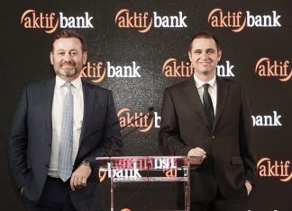 Aktif Bank Genel Müdürü Dr. Serdar SümervePassolig Genel Müdürü Ceyhun Kazancı