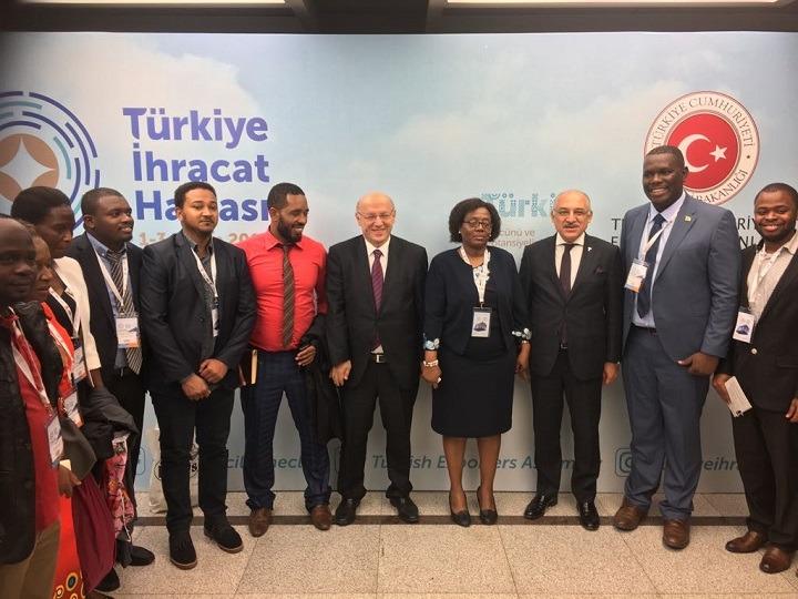 Tanzaya Heyeti _ TİM Başkanı Mehmet Büyükekşi