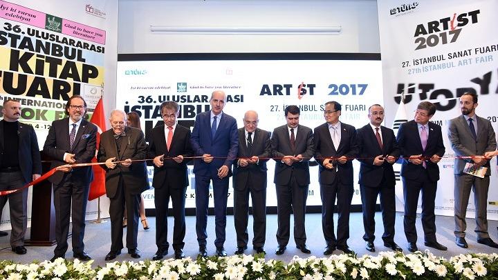 36. Uluslararası İstanbul Kitap Fuarı ve 27. İstanbul Sanat Fuarı