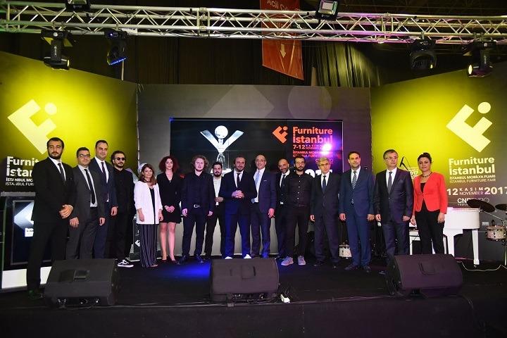 Furniture İstanbul 2017 Tasarım Yarışması Ödül Töreni