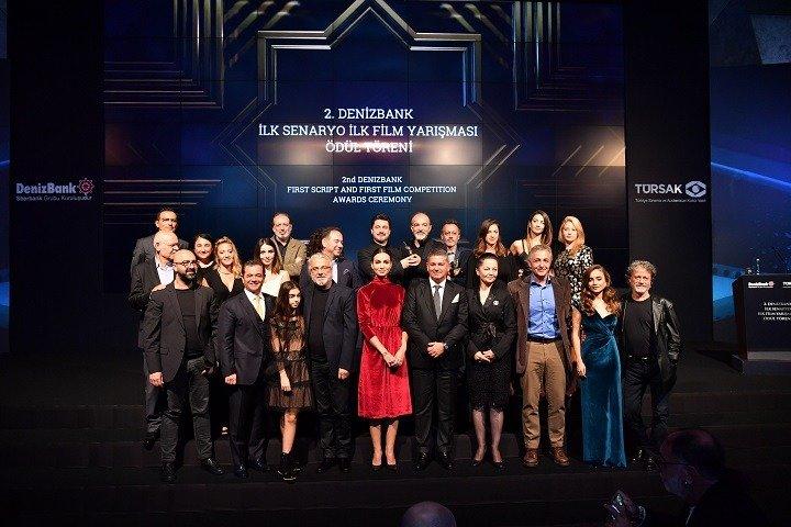 2. DenizBank İlk Senaryo İlk Film yarışması Toplu Fotoğraf