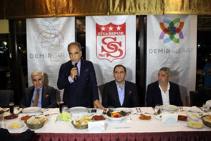 Sivasspor motivasyon yemeği