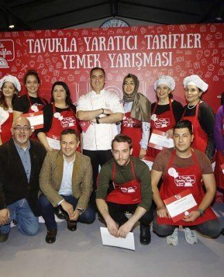 Tavukla Yaratıcı Lezzetler Jüri Üyeleri ve Kazananlar (Ödül Töreni)